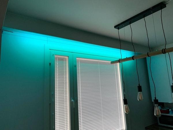 Näin sisustat kotisi LED-nauhoilla